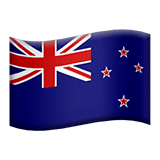 New Zealand Emoji on Apple macOS and iOS iPhones