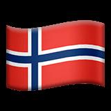 Norway Emoji on Apple macOS and iOS iPhones