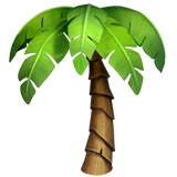 Palm Tree Emoji on Apple macOS and iOS iPhones