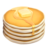 Pancakes Emoji on Apple macOS and iOS iPhones