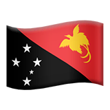 Papua New Guinea Emoji on Apple macOS and iOS iPhones
