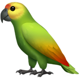 Parrot Emoji on Apple macOS and iOS iPhones