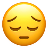 😔 Pensive Face Emoji — Meaning, Copy & Paste