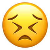 Persevering Face Emoji on Apple macOS and iOS iPhones