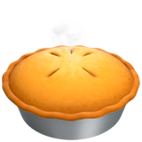 Pie Emoji on Apple macOS and iOS iPhones