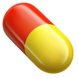 Pill Emoji on Apple macOS and iOS iPhones