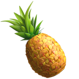Pineapple Emoji on Apple macOS and iOS iPhones