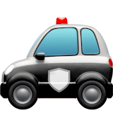 Police Car Emoji on Apple macOS and iOS iPhones