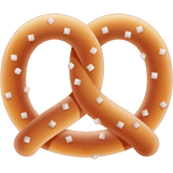 Pretzel Emoji on Apple macOS and iOS iPhones