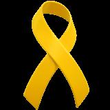 Reminder Ribbon Emoji on Apple macOS and iOS iPhones