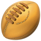 Rugby Football Emoji on Apple macOS and iOS iPhones