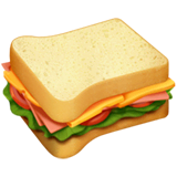 Sandwich Emoji on Apple macOS and iOS iPhones