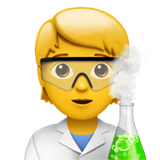 Scientist Emoji on Apple macOS and iOS iPhones