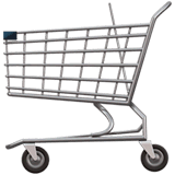 Shopping Cart Emoji on Apple macOS and iOS iPhones