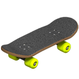 Skateboard Emoji on Apple macOS and iOS iPhones