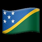 Solomon Islands Emoji on Apple macOS and iOS iPhones