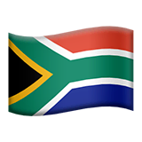 South Africa Emoji on Apple macOS and iOS iPhones