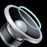 Speaker Medium Volume Emoji on Apple macOS and iOS iPhones