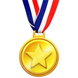Sports Medal Emoji on Apple macOS and iOS iPhones