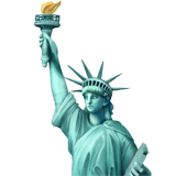 Statue of Liberty Emoji on Apple macOS and iOS iPhones