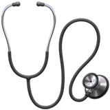 Stethoscope Emoji on Apple macOS and iOS iPhones
