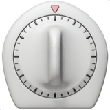 Timer Clock Emoji on Apple macOS and iOS iPhones