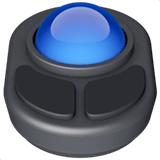 Trackball Emoji on Apple macOS and iOS iPhones