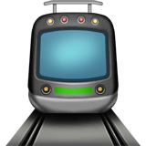 Tram Emoji on Apple macOS and iOS iPhones