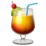 Tropical Drink Emoji on Apple macOS and iOS iPhones