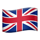 United Kingdom Emoji on Apple macOS and iOS iPhones