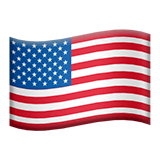 United States Emoji on Apple macOS and iOS iPhones