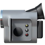 Video Camera Emoji on Apple macOS and iOS iPhones