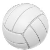 Volleyball Emoji on Apple macOS and iOS iPhones