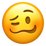 Woozy Face Emoji on Apple macOS and iOS iPhones