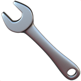 Wrench Emoji on Apple macOS and iOS iPhones
