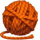 Yarn Emoji on Apple macOS and iOS iPhones