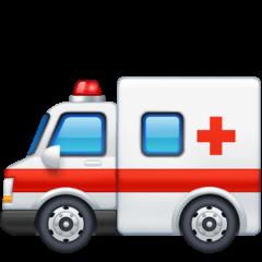 Ambulance Emoji on Facebook