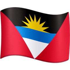 Flag: Antigua & Barbuda Emoji on Facebook