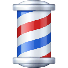 Barber Pole Emoji on Facebook