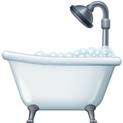 Bathtub Emoji on Facebook