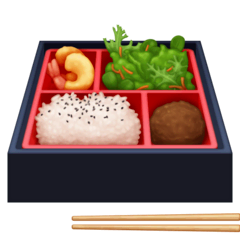 Bento Box Emoji on Facebook