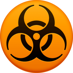 Biohazard Emoji on Facebook