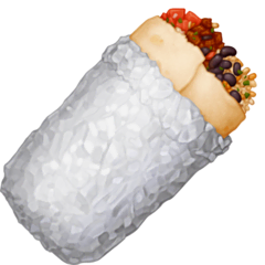 Burrito Emoji on Facebook