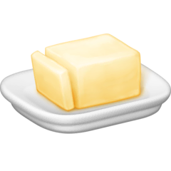 Butter Emoji on Facebook