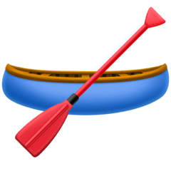 Canoe Emoji on Facebook