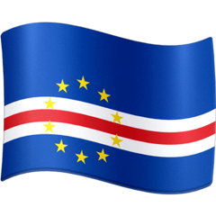 Flag: Cape Verde Emoji on Facebook