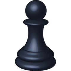 Chess Pawn Emoji on Facebook