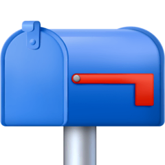 Closed Mailbox With Lowered Flag Emoji on Facebook