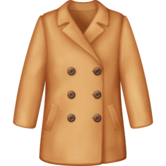 Coat Emoji on Facebook