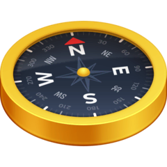 Compass Emoji on Facebook